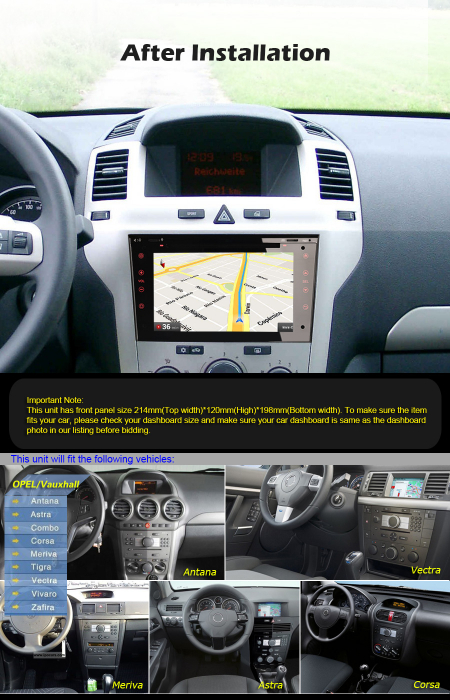 Navigatie auto, Pachet dedicat Opel Signum Corsa Signum, 7 Inch, Android 10.0 [8]