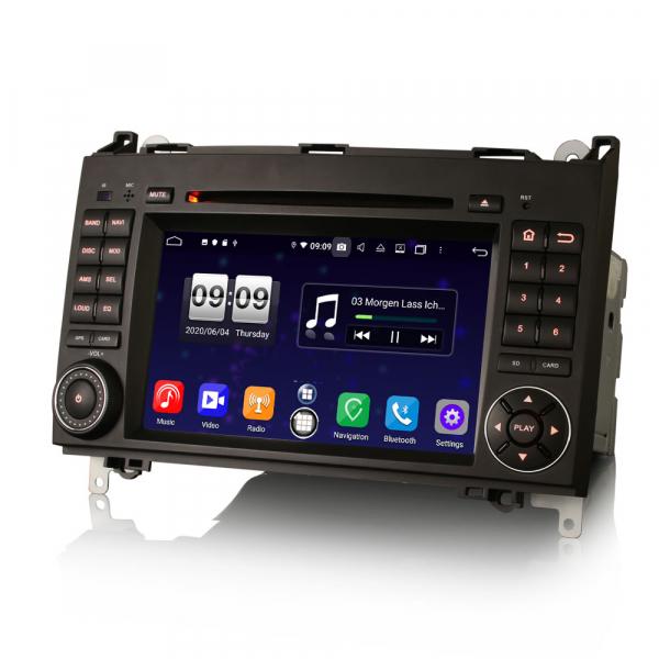 Navigatie auto, Pachet dedicat Mercedes Benz B200 Viano Vito Android 10.0, 7 inch,8-Core CPU 4