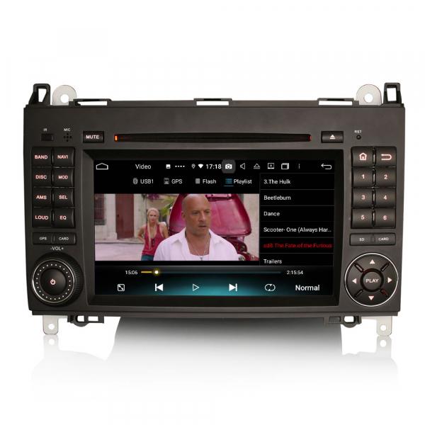 Navigatie auto, Pachet dedicat Mercedes Benz B200 Viano Vito Android 10.0, 7 inch,8-Core CPU 5