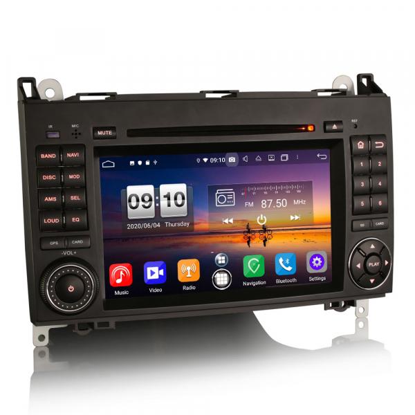 Navigatie auto, Pachet dedicat Mercedes Benz B200 Viano Vito Android 10.0, 7 inch,8-Core CPU 2