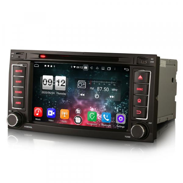 Navigatie auto 2 din, Pachet dedicat VW TOUAREG T5, Android 10, 7 Inch, Octa Core 8