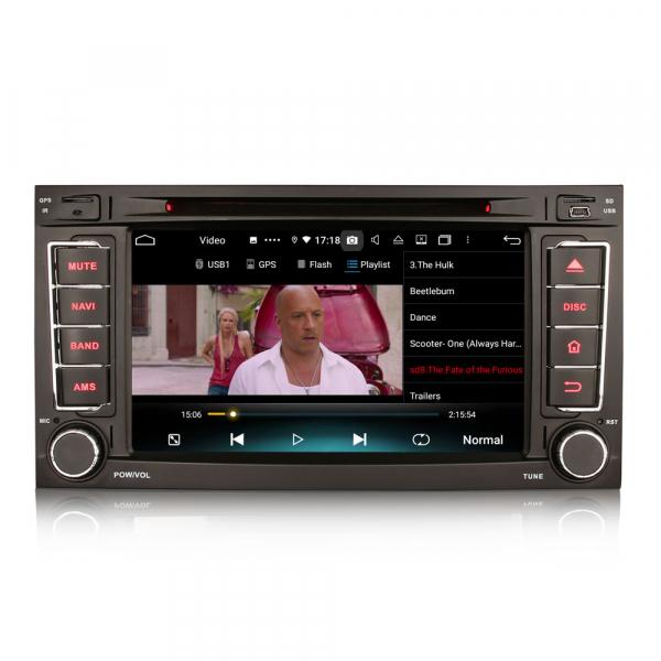 Navigatie auto 2 din, Pachet dedicat VW TOUAREG T5, Android 10, 7 Inch, Octa Core 9