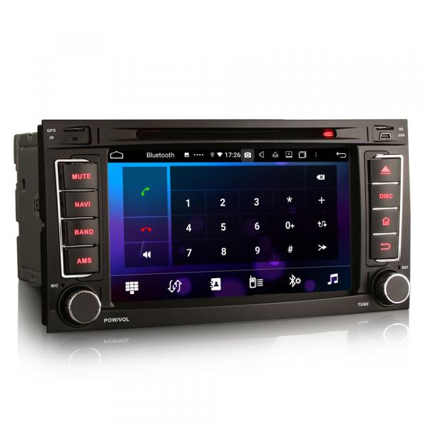 Navigatie auto 2 din, Pachet dedicat VW TOUAREG T5, Android 10, 7 Inch, Octa Core 2