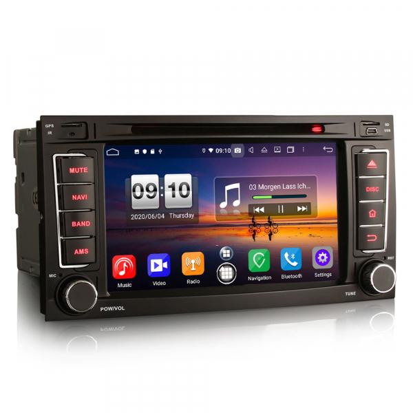 Navigatie auto 2 din, Pachet dedicat VW TOUAREG T5, Android 10, 7 Inch, Octa Core 5