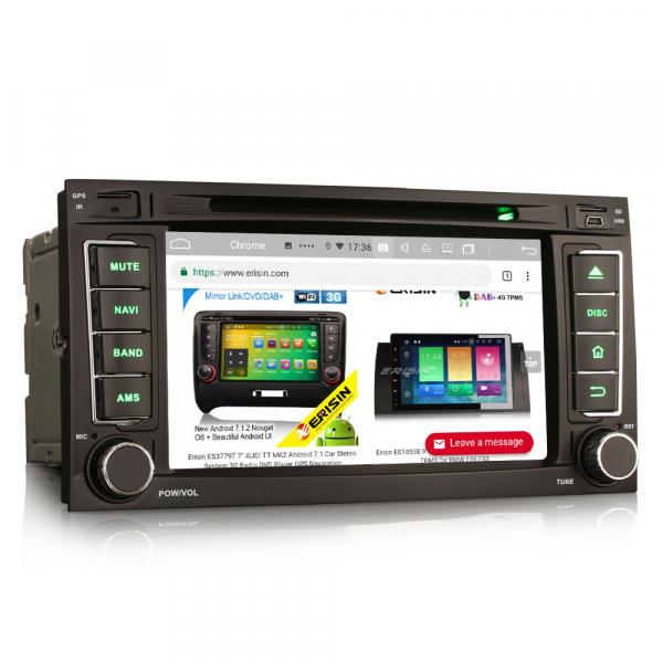 Navigatie auto 2 din, Pachet dedicat VW TOUAREG T5, Android 10, 7 Inch, Octa Core 7