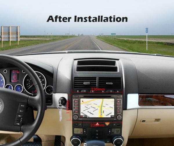 Navigatie auto 2 din, Pachet dedicat VW TOUAREG T5, Android 10, 7 Inch, Octa Core 10