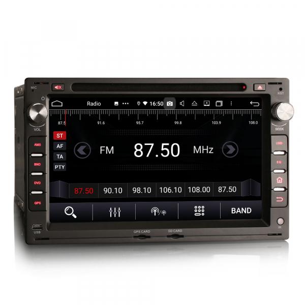 Navigatie auto 2 din, Pachet dedicat VW Golf Passat Polo Lupo Seat Peugeot 307, Android 10, 7 inch, Octa Core [6]