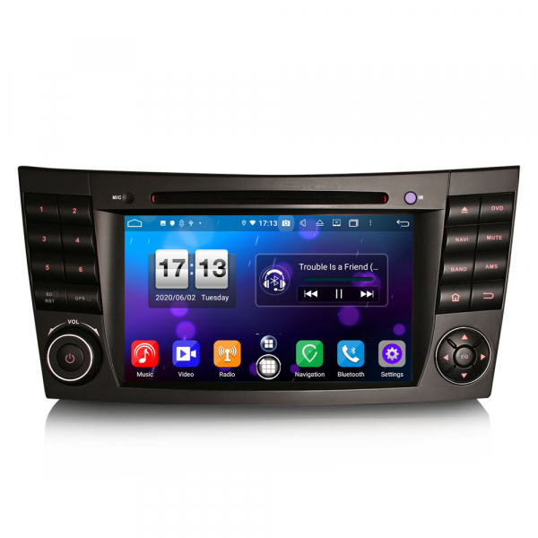 Navigatie auto, Pachet dedicat Mercedes BENZ E/CLS/G Klasse W211 W219, Android 10.0, 7 inch, Octa Core 0