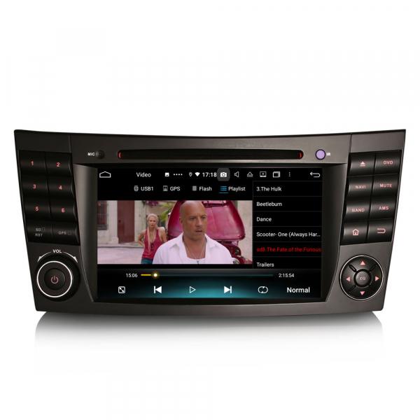 Navigatie auto, Pachet dedicat Mercedes BENZ E/CLS/G Klasse W211 W219, Android 10.0, 7 inch, Octa Core 4