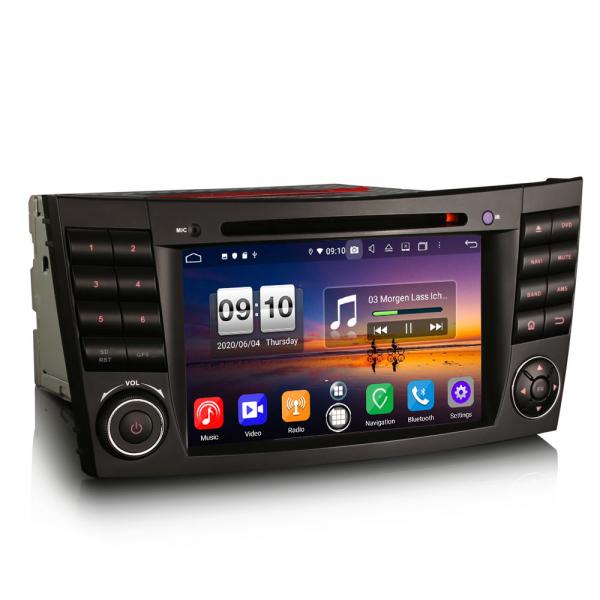 Navigatie auto, Pachet dedicat Mercedes BENZ E/CLS/G Klasse W211 W219, Android 10.0, 7 inch, Octa Core 5