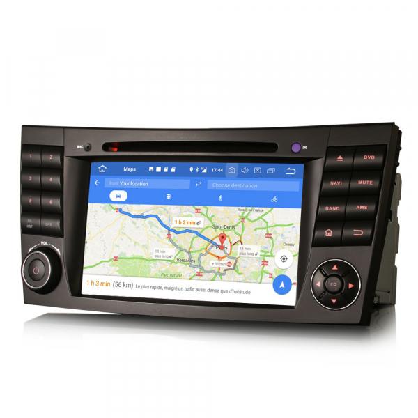 Navigatie auto, Pachet dedicat Mercedes BENZ E/CLS/G Klasse W211 W219, Android 10.0, 7 inch, Octa Core 6