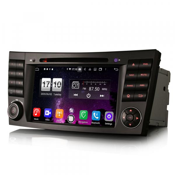 Navigatie auto, Pachet dedicat Mercedes BENZ E/CLS/G Klasse W211 W219, Android 10.0, 7 inch, Octa Core 1