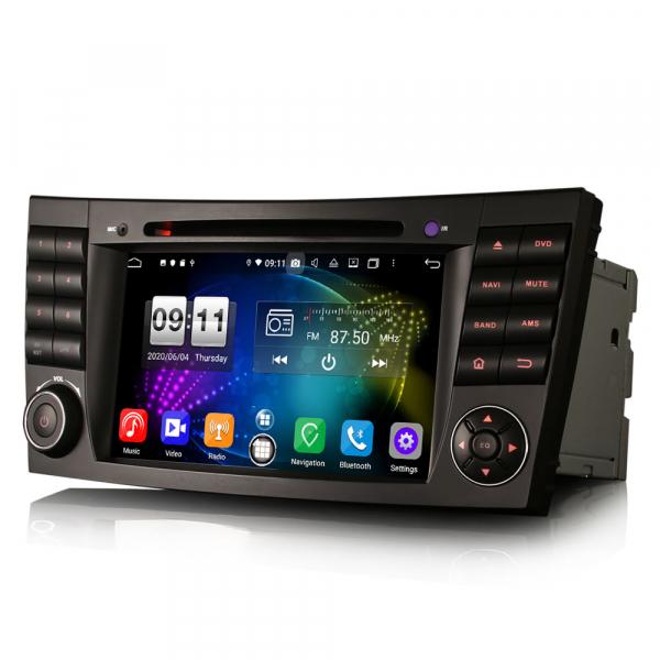 Navigatie auto, Pachet dedicat Mercedes BENZ E/CLS/G Klasse W211 W219, Android 10.0, 7 inch, Octa Core 2