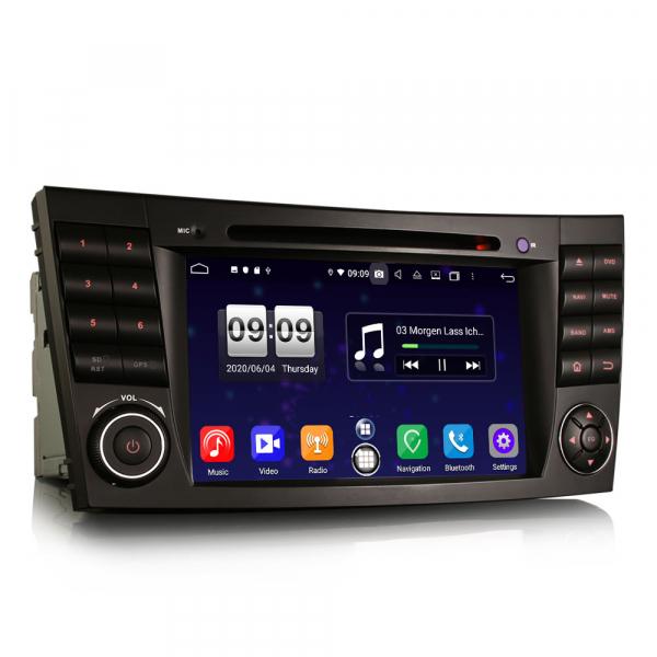 Navigatie auto, Pachet dedicat Mercedes BENZ E/CLS/G Klasse W211 W219, Android 10.0, 7 inch, Octa Core 3