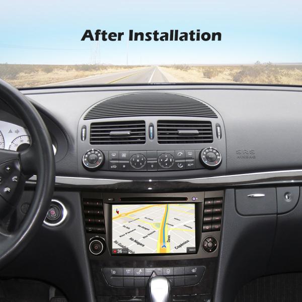 Navigatie auto, Pachet dedicat Mercedes BENZ E/CLS/G Klasse W211 W219, Android 10.0, 7 inch, Octa Core 7