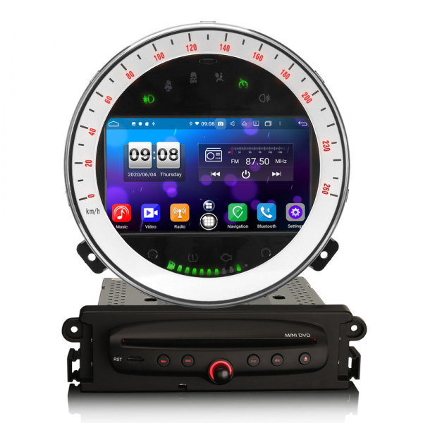 Navigatie auto, Pachet dedicat BMW Mini Cooper, 7 Inch, Android 10.0, Octa Core. [0]