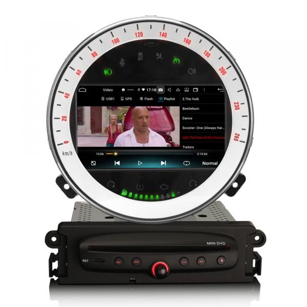 Navigatie auto, Pachet dedicat BMW Mini Cooper, 7 Inch, Android 10.0, Octa Core. 4