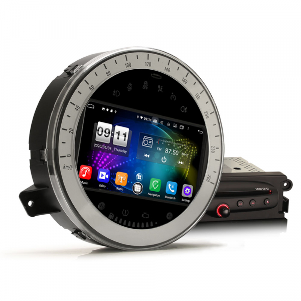 Navigatie auto, Pachet dedicat BMW Mini Cooper, 7 Inch, Android 10.0, Octa Core. 5