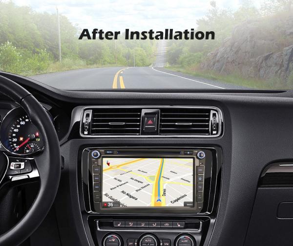 Navigatie auto 2 din, Pachet dedicat VW Seat Skoda, Android 10, 7 inch, Octa Core 7