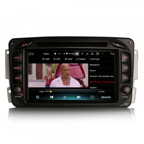 Navigatie auto , Pachet dedicat Mercedes BENZ C/CLK/G Class Vito Viano, Android 10, 7 Inch, Octa Core 5