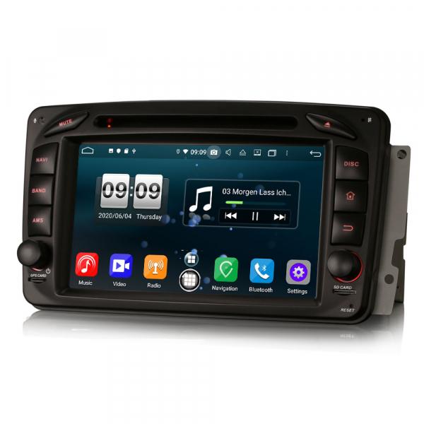 Navigatie auto , Pachet dedicat Mercedes BENZ C/CLK/G Class Vito Viano, Android 10, 7 Inch, Octa Core 1