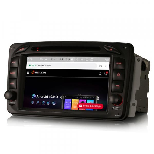 Navigatie auto , Pachet dedicat Mercedes BENZ C/CLK/G Class Vito Viano, Android 10, 7 Inch, Octa Core 2