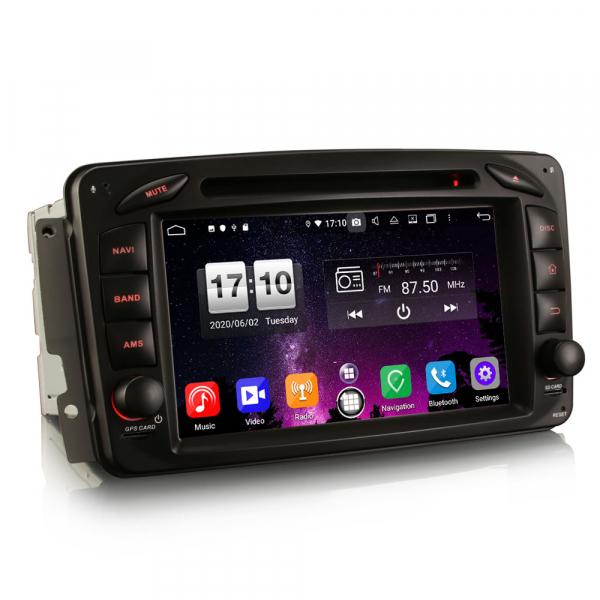 Navigatie auto , Pachet dedicat Mercedes BENZ C/CLK/G Class Vito Viano, Android 10, 7 Inch, Octa Core 3