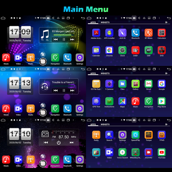 Navigatie auto , Pachet dedicat Mercedes BENZ C/CLK/G Class Vito Viano, Android 10, 7 Inch, Octa Core 9