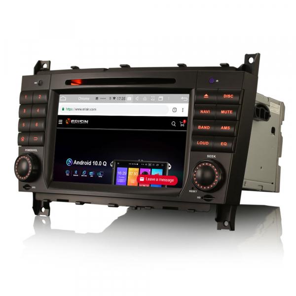Navigatie auto , Pachet dedicat Mercedes Benz C/CLC/CLK Klasse W203 W209, Android 10, 7 Inch, Octa Core 1