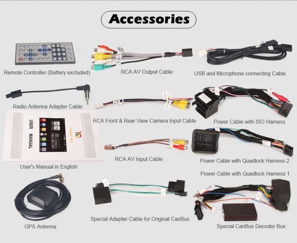 Navigatie auto , Pachet dedicat Mercedes Benz C/CLC/CLK Klasse W203 W209, Android 10, 7 Inch, Octa Core 9