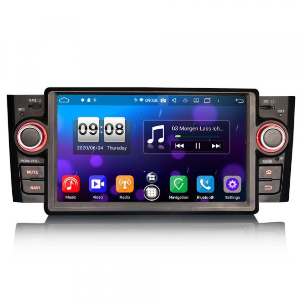 Navigatie auto, Pachet dedicat Fiat Punto Linea,7 inch, Android 10, Octa Core 0