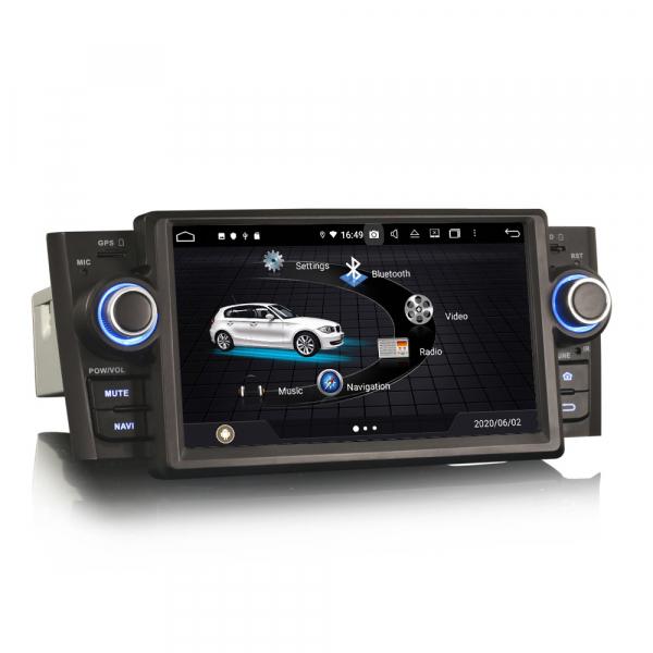 Navigatie auto, Pachet dedicat Fiat Punto Linea,7 inch, Android 10, Octa Core 1
