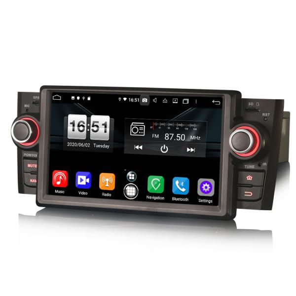 Navigatie auto, Pachet dedicat Fiat Punto Linea,7 inch, Android 10, Octa Core 3
