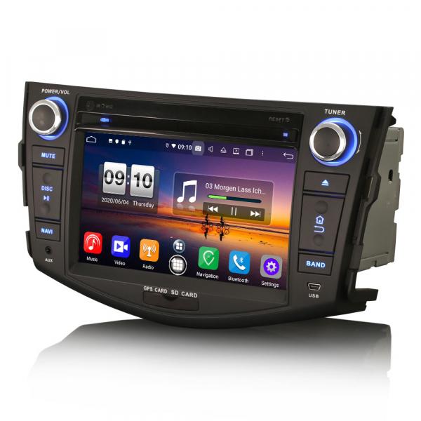 Navigatie auto, Pachet dedicat TOYOTA RAV 4,7 inch, Android 10, Octa Core, 4 Gb Ram 3
