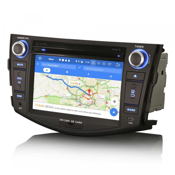 Navigatie auto, Pachet dedicat TOYOTA RAV 4,7 inch, Android 10, Octa Core, 4 Gb Ram 4