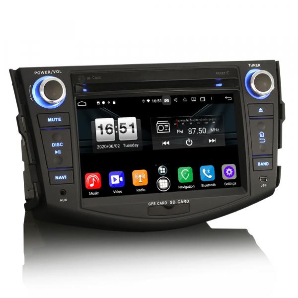 Navigatie auto, Pachet dedicat TOYOTA RAV 4,7 inch, Android 10, Octa Core, 4 Gb Ram 5