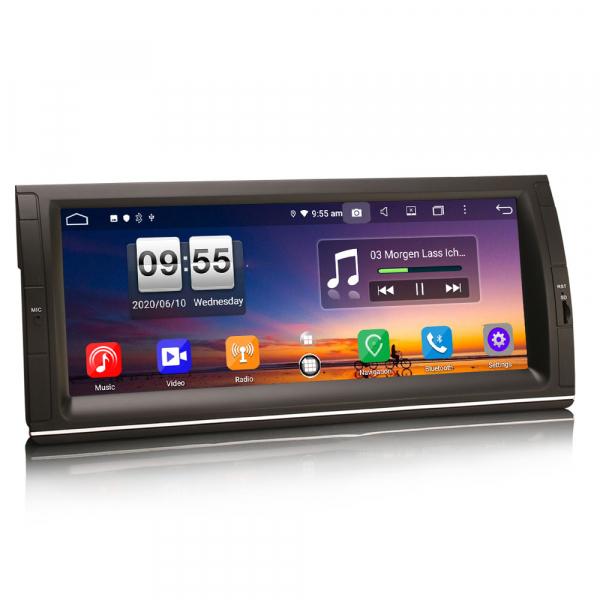 Navigatie auto, Pachet dedicat BMW Seria 5 , 10.25 Inch, Android 10.0, Octa Core [6]