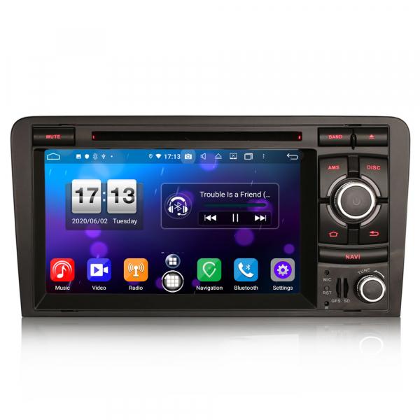 Navigatie auto, Pachet dedicat  AUDI A3 S3 RS3 RNSE-PU,7 inch, Android 10, Octa Core 0