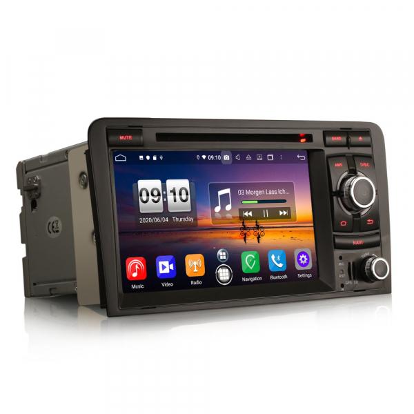 Navigatie auto, Pachet dedicat  AUDI A3 S3 RS3 RNSE-PU,7 inch, Android 10, Octa Core 8