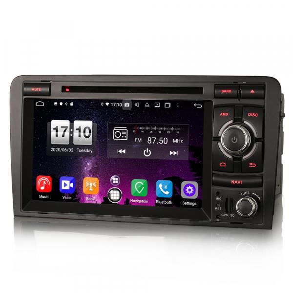 Navigatie auto, Pachet dedicat  AUDI A3 S3 RS3 RNSE-PU,7 inch, Android 10, Octa Core 1