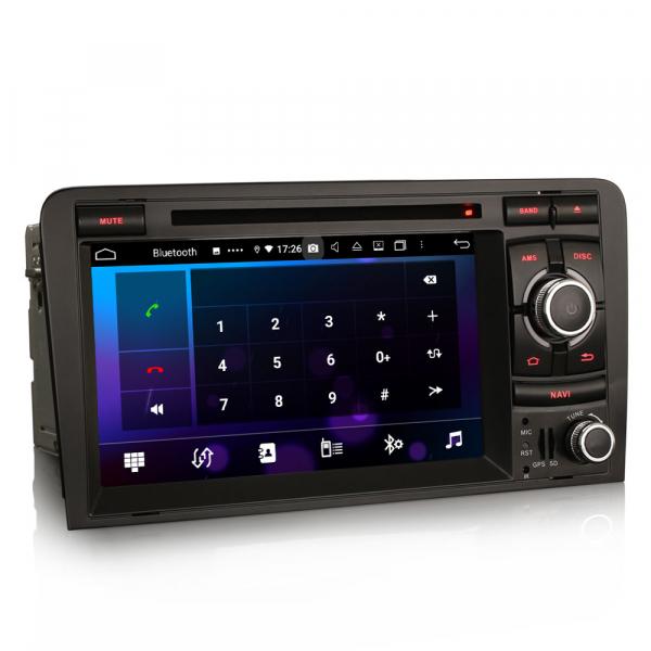Navigatie auto, Pachet dedicat  AUDI A3 S3 RS3 RNSE-PU,7 inch, Android 10, Octa Core 2