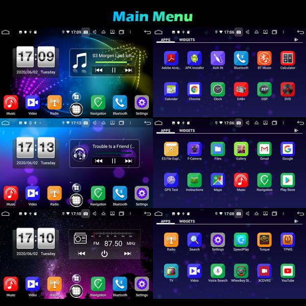 Navigatie auto, Pachet dedicat  AUDI A3 S3 RS3 RNSE-PU,7 inch, Android 10, Octa Core 10