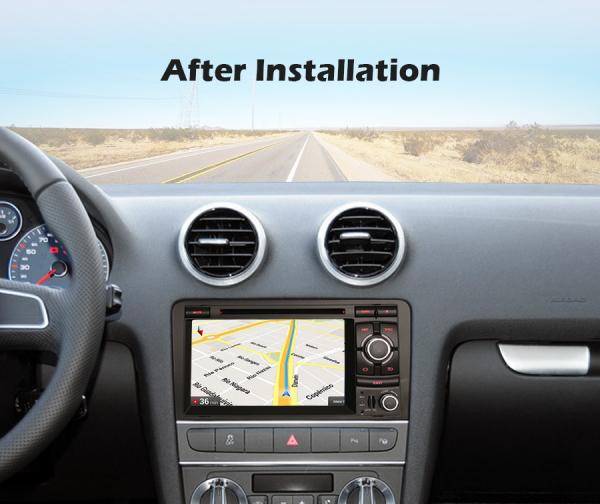 Navigatie auto, Pachet dedicat  AUDI A3 S3 RS3 RNSE-PU,7 inch, Android 10, Octa Core 9