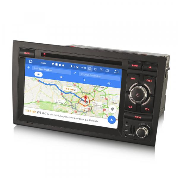 Navigatie auto, Pachet dedicat Audi A4 S4 RS4 Seat Exeo,7 inch, Android 10, Octa Core 7