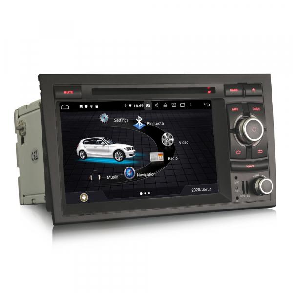 Navigatie auto, Pachet dedicat Audi A4 S4 RS4 Seat Exeo,7 inch, Android 10, Octa Core 3