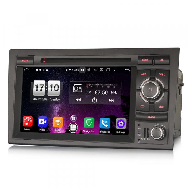 Navigatie auto, Pachet dedicat Audi A4 S4 RS4 Seat Exeo,7 inch, Android 10, Octa Core 6