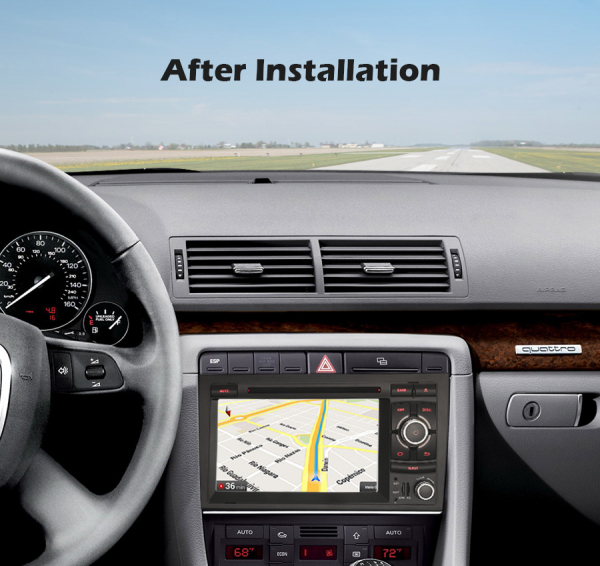 Navigatie auto, Pachet dedicat Audi A4 S4 RS4 Seat Exeo,7 inch, Android 10, Octa Core 9