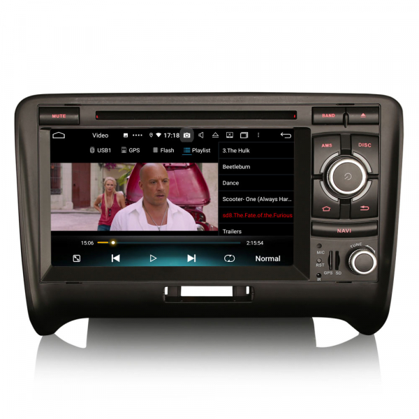 Navigatie auto, Pachet dedicat Audi TT ,7 inch, Android 10, Octa Core 6