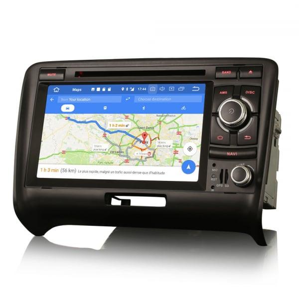 Navigatie auto, Pachet dedicat Audi TT ,7 inch, Android 10, Octa Core 7