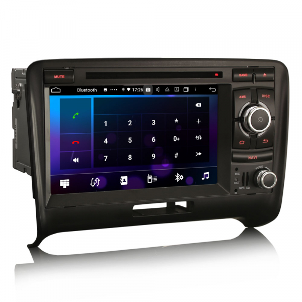 Navigatie auto, Pachet dedicat Audi TT ,7 inch, Android 10, Octa Core 2